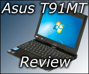 Asus T91MT Netbook Tablet Review