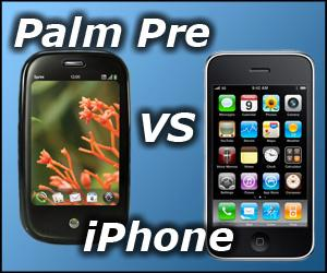 Palm Pre vs iPhone which is better